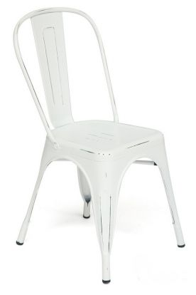 Стул Loft Chair butter white vintage